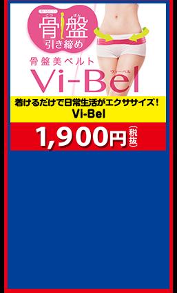着けるだけで日常生活がエクササイズ! Vi-Bel 1,900円(税抜)